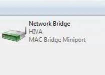 تنظیمات Bridge Connection 13 , گروه اموزشی هیوا