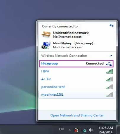آموزش راه اندازی ساخت شبکه wireless - ad-hoc هیوا شبکه
