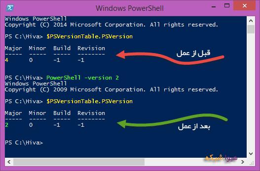 PowerShell چه ورژن هایی دارد؟