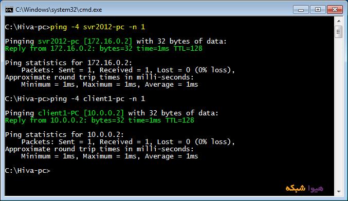آموزش تبدیل ویندوز 7 به Router windows router 02