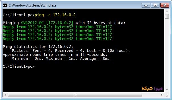 آموزش تبدیل ویندوز 7 به Router windows router 09
