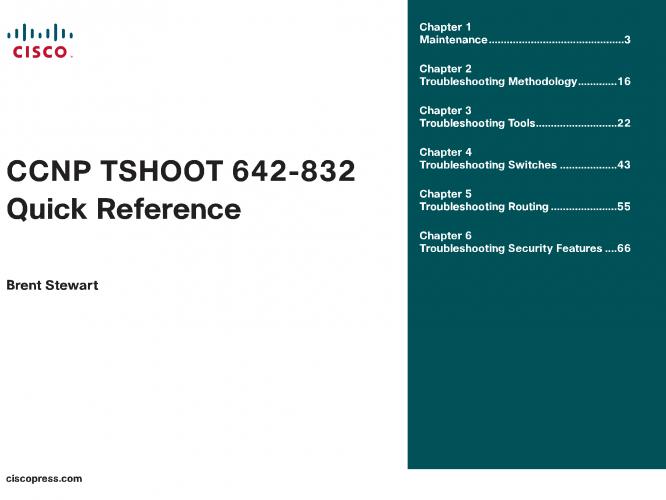 CCNP TSHoot 642 832