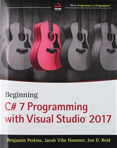 کتاب Beginning C# 7 Programming with Visual Studio 2017