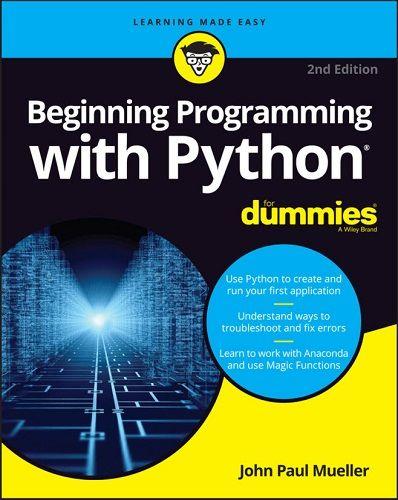 کتاب Beginning Programming with Python for Dummies