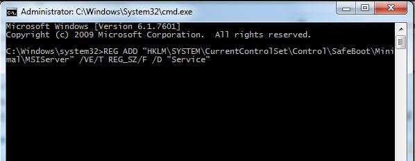 حذف نرم افزار در حالت Safe mode