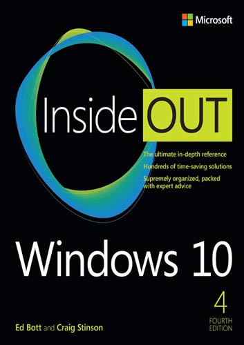 Windows 10 Inside Out, 4th Edition